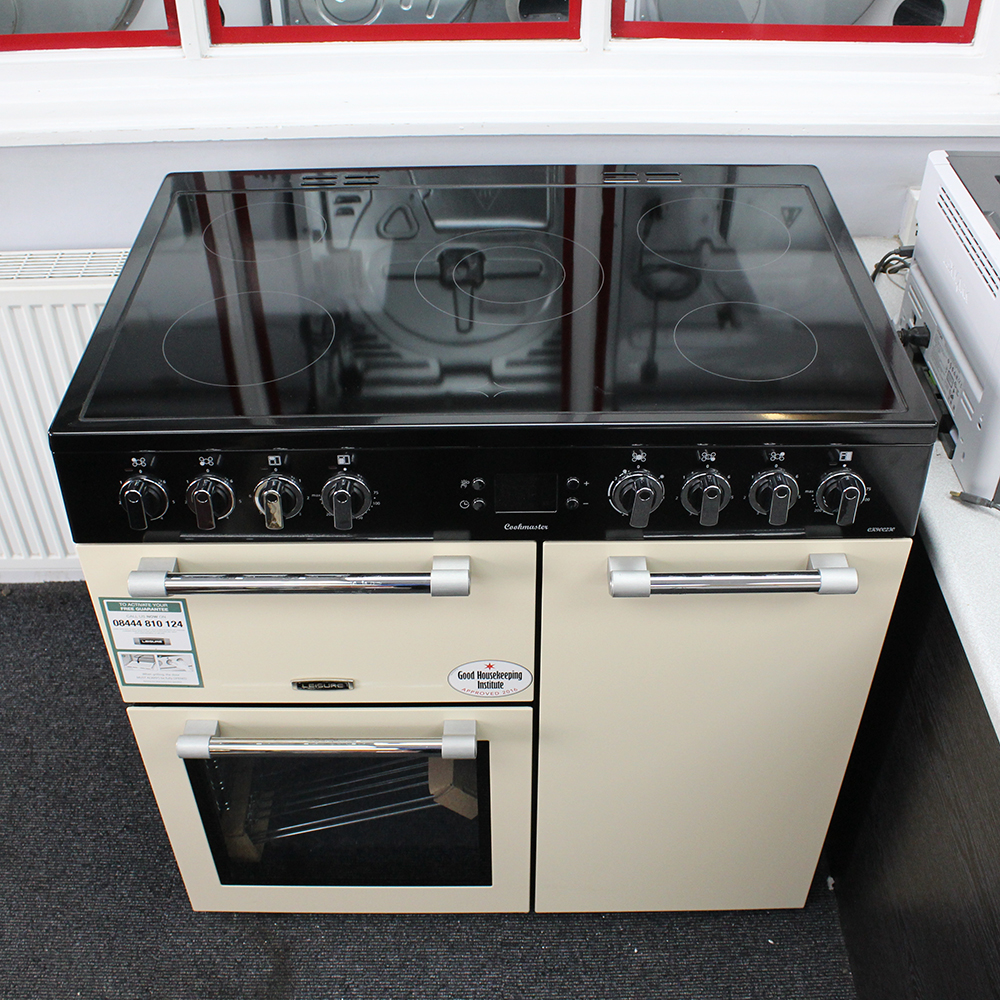 Leisure Cookmaster Ck90c230c 90cm Ceramic Electric Range